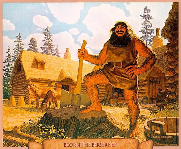 Beorn vu et imaginé par les frères Hildebrant. Il aurait dû ressembler à ça, un point c'est tout !